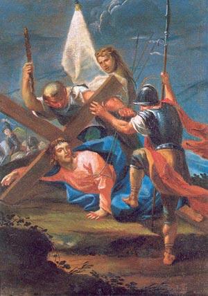 Méditation du Chemin de Croix pour le catéchisme - Jésus tombe pour la première fois