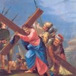 Prière du Chemin de Croix pour le Carème - Jésus est aidé par le Cyrenéen à porter sa Croix