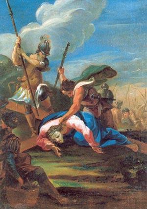 Enfance et Carême - Jésus tombe pour la troisième fois