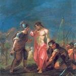 Chemin de Croix pour les jeannettes et les louveteaux - Jésus est depouillé de ses vêtements
