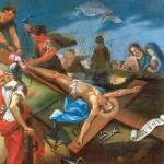 Chemin de Croix 2014 - Jésus est cloué sur la Croix