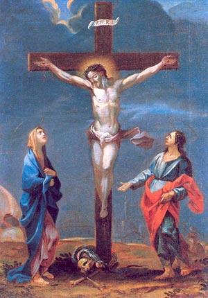 Les enfants face à la Croix - Jésus meurt sur la Croix