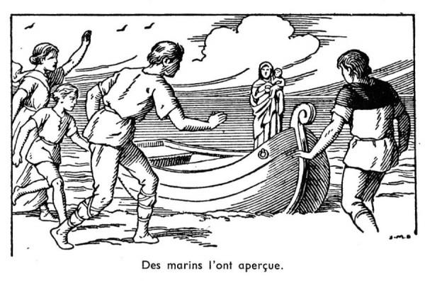 Histoire pour les scouts marins du Nord - Notre-Dame de Boulogne