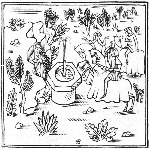 Coloriage - Sainte Odile racontée aux enfants ou aux louveteaux