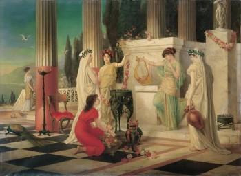 Constantin Hölscher - Dans le temple des Vestales