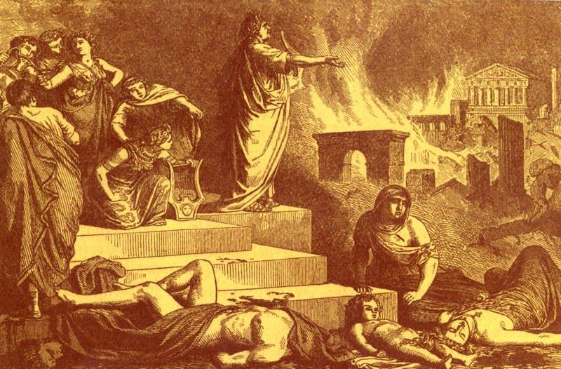 Grand incendie de Rome et persécution des chrétiens