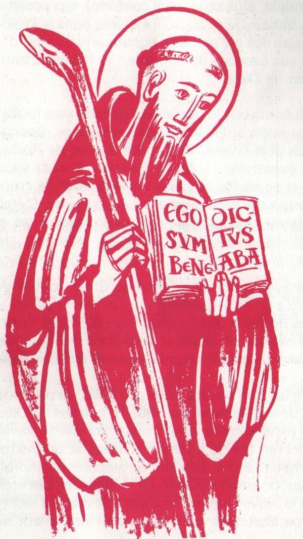 L'histoire de la fondation de l'ordre bénédictin par Saint Benoît