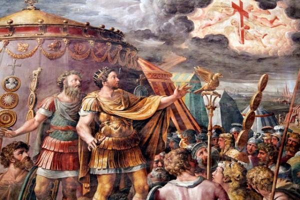 Vision de de l'empereur Constantin : fin de la persécution des chrétiens