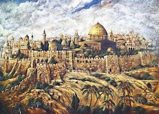 Récit du jeudi saint pour les enfants - Jerusalem