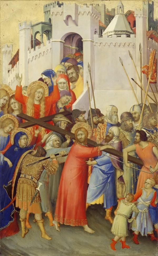 La Passion du Christ - Le Portement de la Croix - Simone Martini.jpg