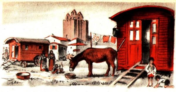 Les bohémiens vénèrent Sainte Sara en Provence