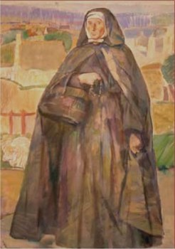 Histoire d'une religieuse visitant une pauvre malade