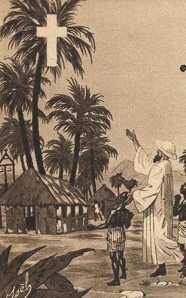 Jeune africain et missionnaire