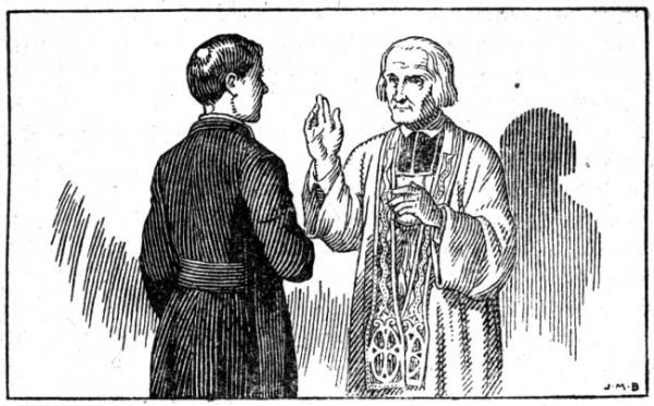 Le père Chevalier et le curé d'Ars - histoire de Notre Dame du Sacré Coeur d'Issoudin