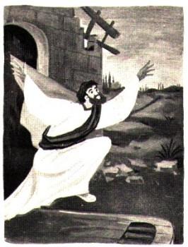 Saint Paul libéré par un tremblement de terre à Philippes - récit pour les petits