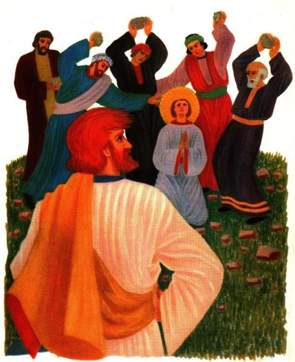 Saint Paul et le martyr de Saint Etienne racontés aux enfants