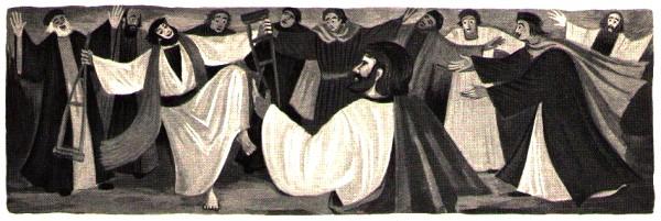 Saint Paul - guérison d'un infirme a Lystres