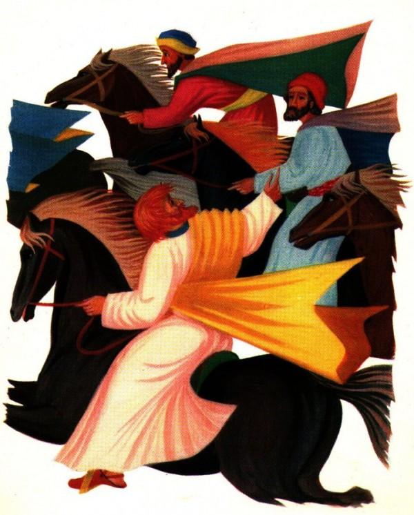 Saint Paul sur le chemin de Damas