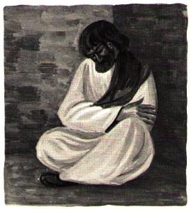 Saint Paul priant chez Jude à Damas