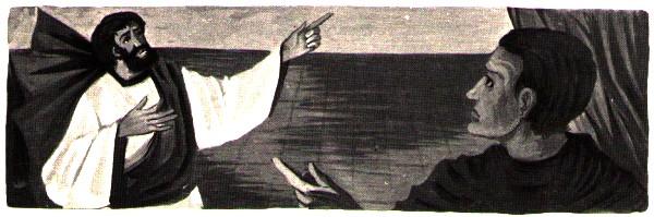 Saint Paul devant le Procurateur de Césarée - récit tiré des évangiles