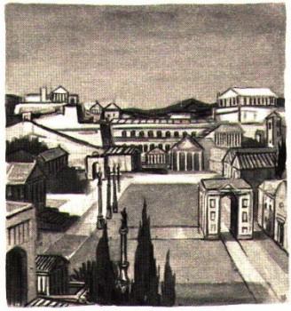 Vue de Rome au temps de Saint Paul - pour les jeunes du KT