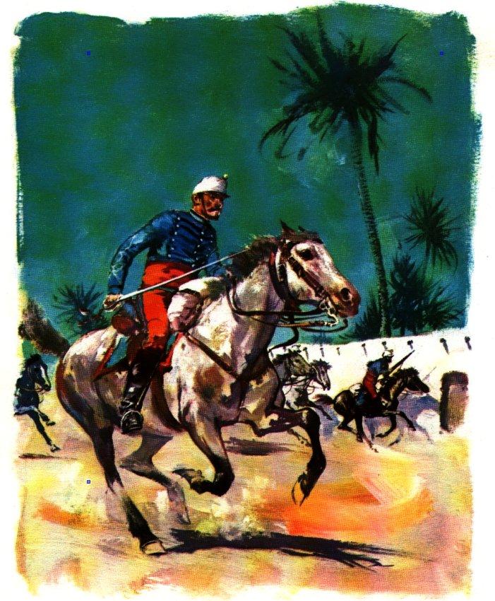 Charles de Foucauld officier dans le desert