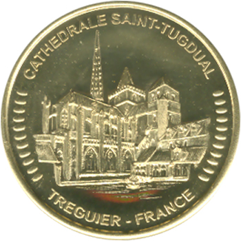 Cathédrale St Tugdual à Tréguier - récit pour les enfants de la vie de saint Yves de Bretagne