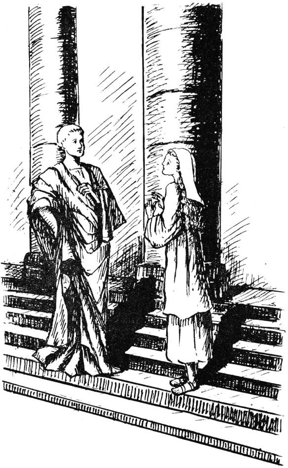 Récit de sainte Reine, martyre - Devant le prefet des Gaules Olybrius