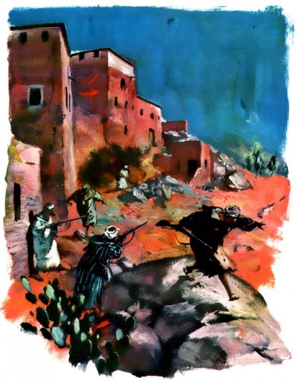 Vie de Charles de Foucauld pour les scouts : attaque au Maroc