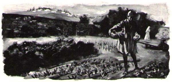 Charles de Foucauld jardinier à Nazareth