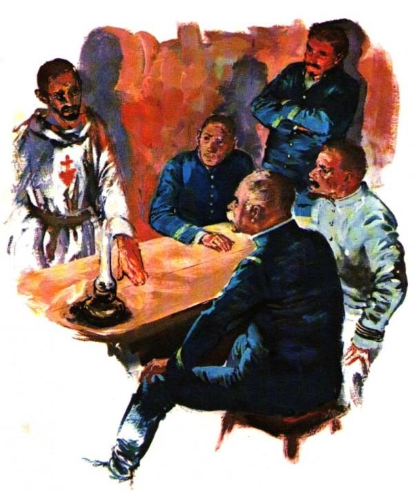 Charles de Foucauld proteste contre l'esclavage