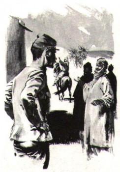 Charles de Foucauld sort de son ermitage pour soigner les blessés