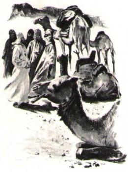 Le père de Foucauld explore le sud algérien