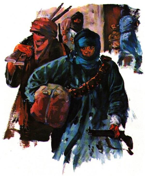 Charles de Foucauld prisonnier des pillards
