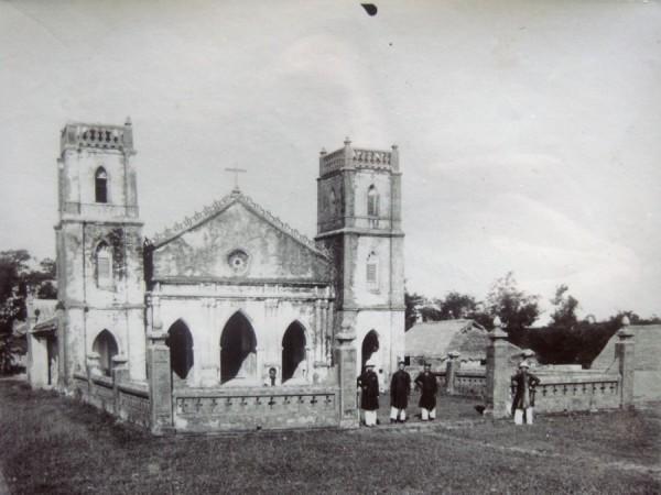 Église de Lavang bénite par Mgr Caspar en 1901