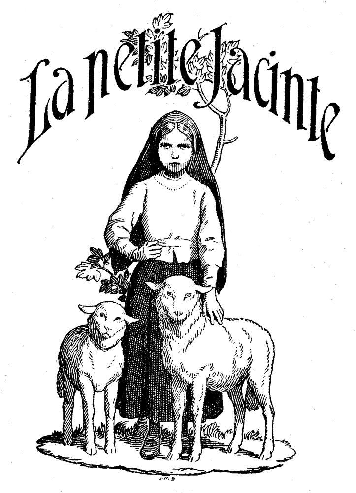 Coloriage La petite Jacinthe de Fatima