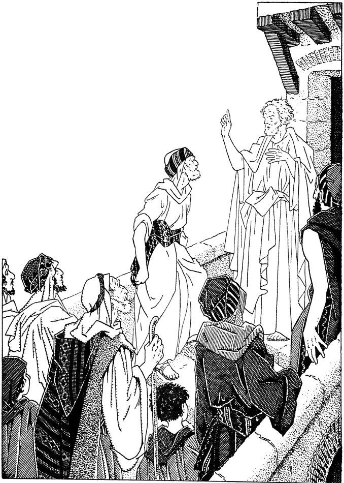 Début de l'histoire de l'Église raconté aux enfants