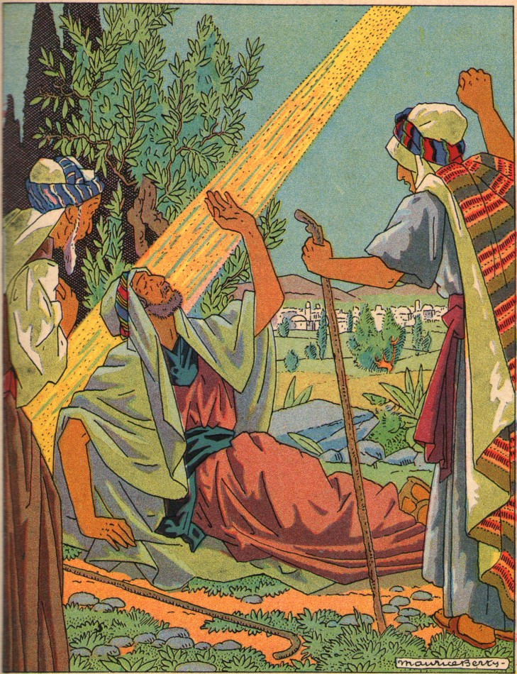 Récit pour les scouts : Saint Paul sur le chemin de Damas