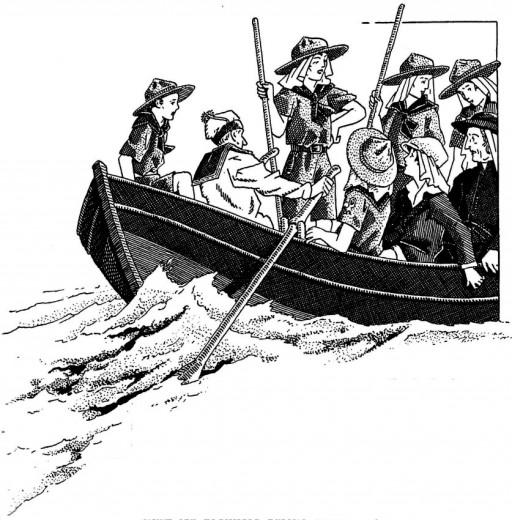 Les scouts marins - l'histoire de l'Eglise