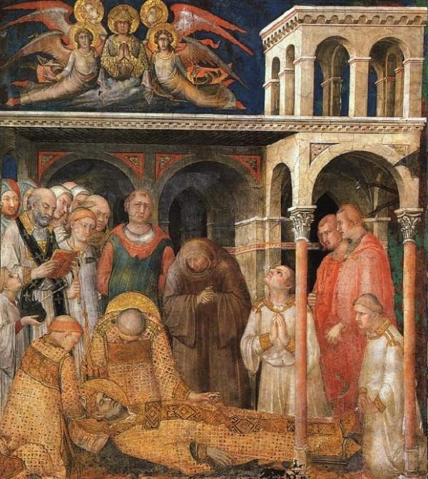 Mort de Saint Martin à Candes