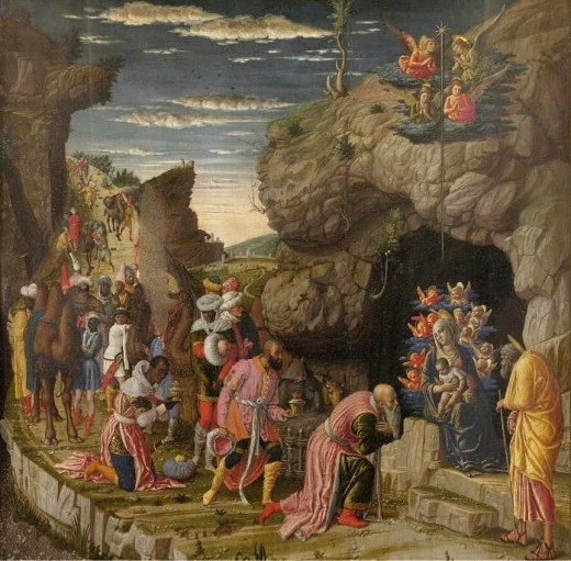 Adoration des mages-Andrea Mantegna - Histoire pour les veillées de noel scouts