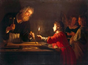 Enfance du Christ - Gerrit van HONTHORST