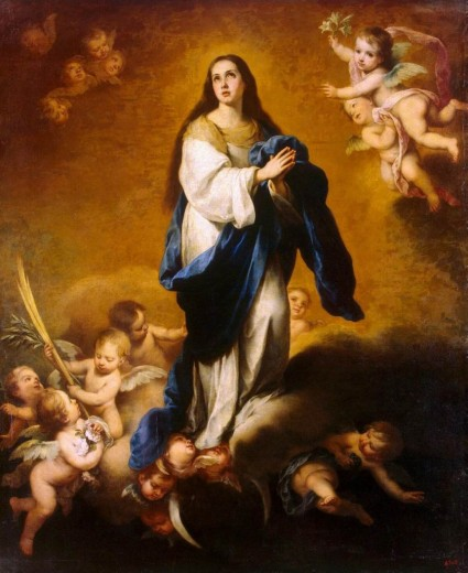 Estaban Murillo - Vierge de l'Immaculée Conception