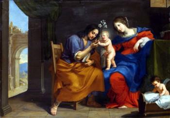 Stella - Sainte Famille et angelot