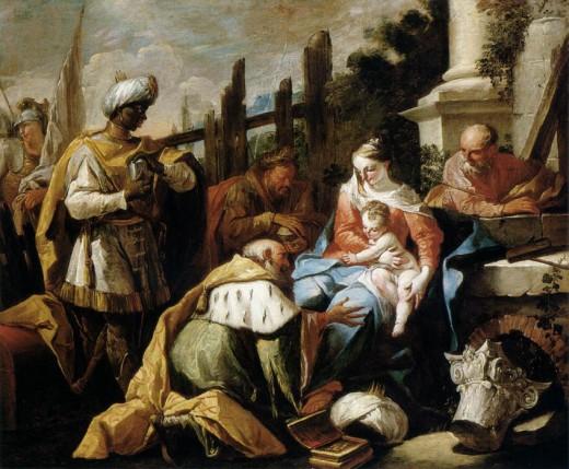 Adoration des Mages, 1718 - Gaspare Diziani