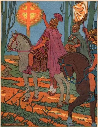 Constantin et l'apparition de la Croix