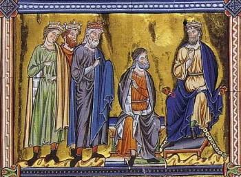 Épiphanie raconté aux petits - Rois mages devant Hérode