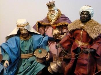 rois mages - creche baroque