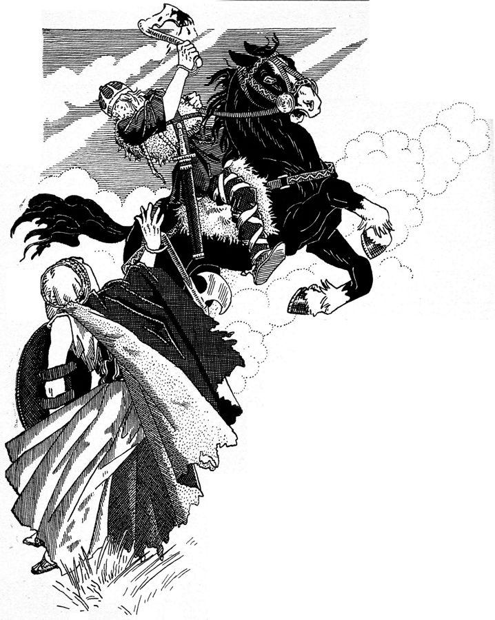 Charles Martel repousse les Sarrazins à Poitiers en 732