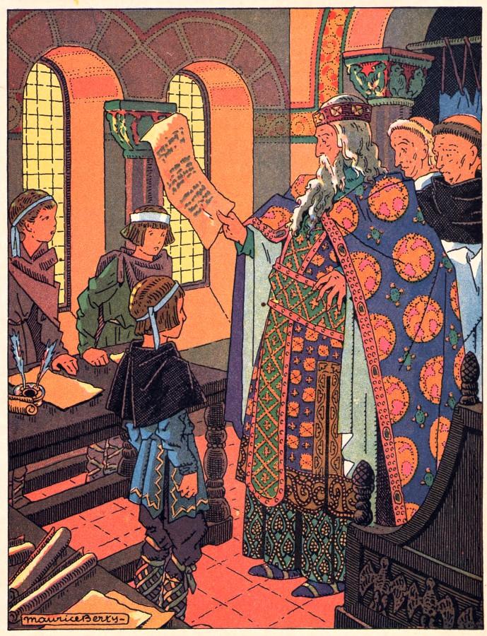 Histoire de l'église pour les écoliers : Charlemagne